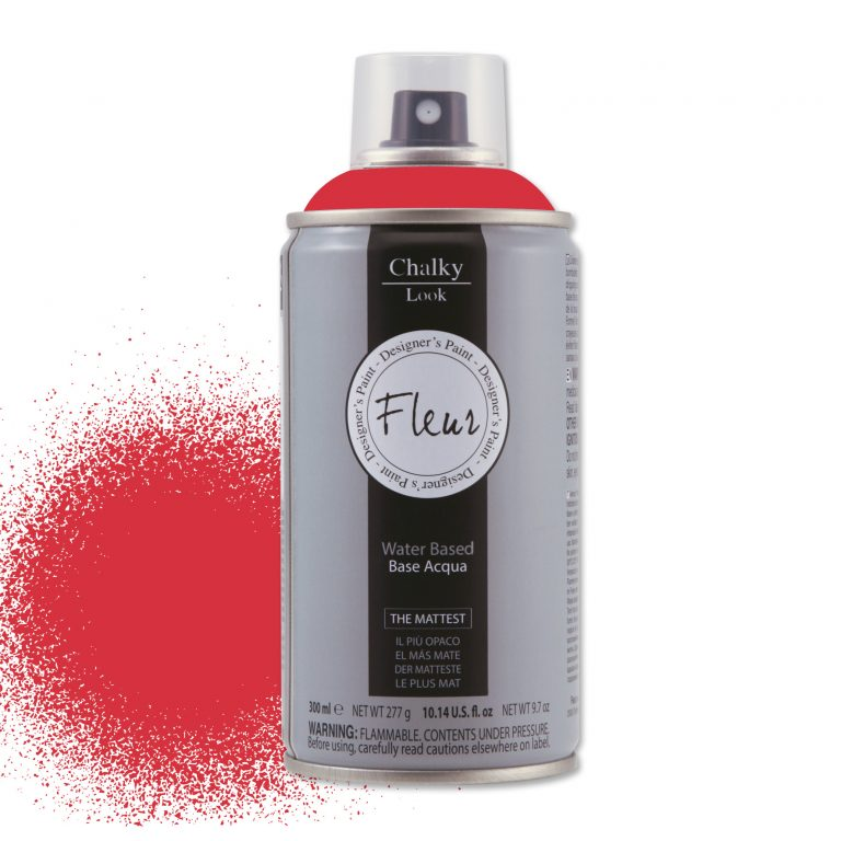 Spray chalky look 300ml – f27 tomato red